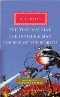 Omslagsbild: The time machine ; The invisible man ; The war of the worlds av