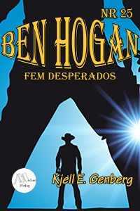 Book cover: Fem desperados av