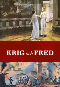 Book cover: Krig och fred av