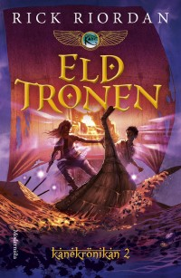 Book cover: Eldtronen av