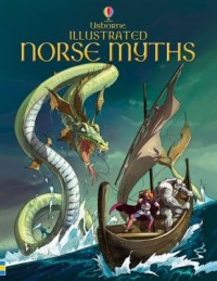 Omslagsbild: Usborne illustrated Norse myths av