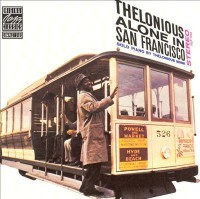 Omslagsbild: Thelonious alone in San Francisco av
