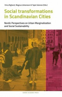 Book cover: Social transformations in Scandinavian cities by