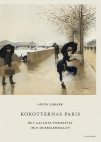 Book cover: Kokotternas Paris av