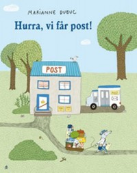 Omslagsbild: Hurra, vi får post! av