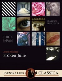 Book cover: Fröken Julie av