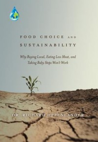 Book cover: Food choice and sustainability by