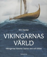 Book cover: Vikingarnas värld av