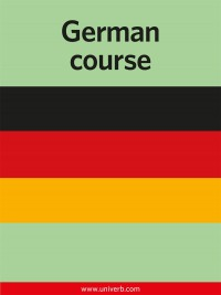 Omslagsbild: German course av