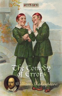 Omslagsbild: The comedy of errors av