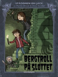 Book cover: Bergtroll på slottet av