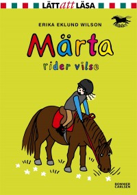 Book cover: Märta rider vilse av