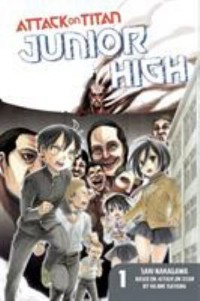 Omslagsbild: Attack on Titan: Junior high av