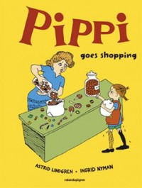Omslagsbild: Pippi goes shopping av