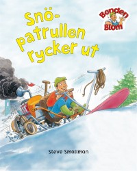 Book cover: Snöpatrullen rycker ut av