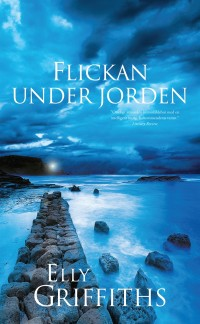 Book cover: Flickan under jorden av