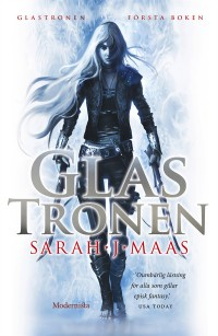 Book cover: Glastronen av