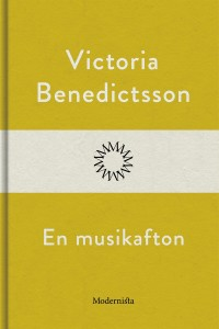 Book cover: En musikafton av