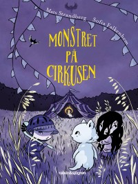 Book cover: Monstret på cirkusen av