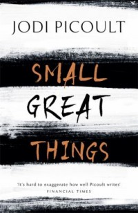 Omslagsbild: Small great things av