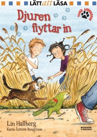 Book cover: Djuren flyttar in av