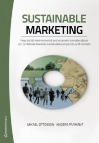Book cover: Sustainable marketing by