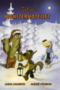 Omslagsbild: Jul på Monsterhotellet av
