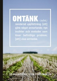 Book cover: Omtänk by