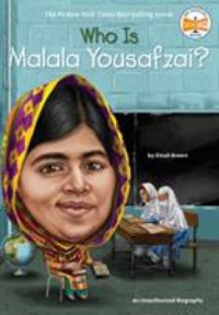 Omslagsbild: Who is Malala Yousafzai? av
