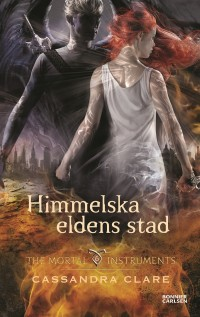Book cover: Himmelska eldens stad av