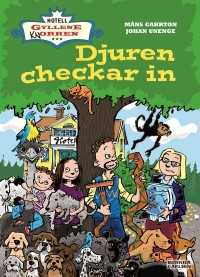 Book cover: Djuren checkar in av