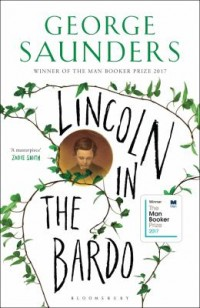 Book cover: Lincoln in the Bardo av