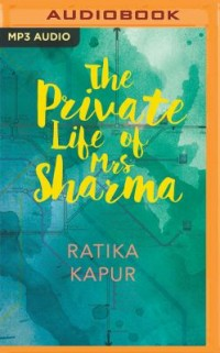 Book cover: The private life of mrs Sharma av