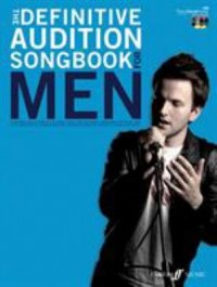 Omslagsbild: The definitive audition songbook for men av