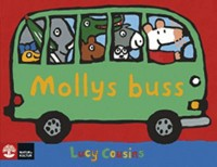 Book cover: Mollys buss by