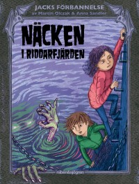 Book cover: Näcken i Riddarfjärden av