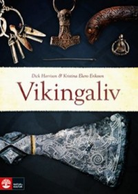 Book cover: Vikingaliv av
