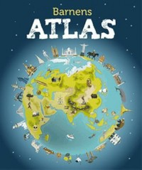 Book cover: Barnens atlas av