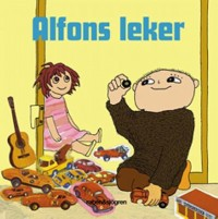 Book cover: Alfons leker av