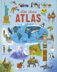 Book cover: Min stora atlas av