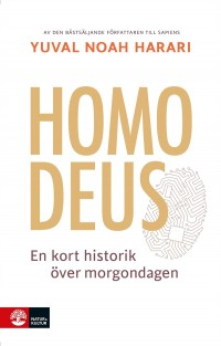 Book cover: Homo deus av