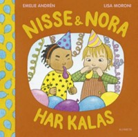 Book cover: Nisse & Nora har kalas by