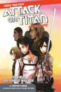Omslagsbild: Attack on Titan adventure av
