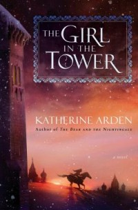 Book cover: The girl in the tower av