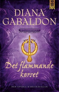 Book cover: Det flammande korset av