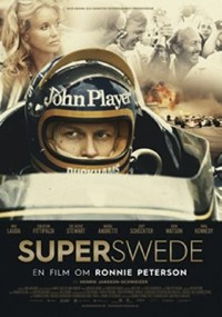 Omslagsbild: Superswede - en film om Ronnie Peterson av