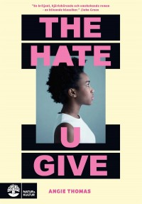 Book cover: The hate u give av
