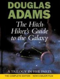 Omslagsbild: The hitch hiker's guide to the galaxy av