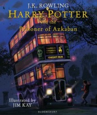 Omslagsbild: Harry Potter and the prisoner of Azkaban av