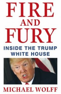 Book cover: Fire and fury av